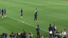 Cristiano Ronaldo ve Keylor Navas'dan şov!