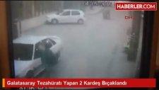Galibiyete Sevinen Galatasaray Taraftarlarına Bıçaklı Saldırı