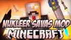 NUKLEER SAVAS MODU!! Minecraft Mod İncelemeleri - Bölüm 3 #1080p w/Burak Oyunda Ayak,Le Hamam