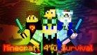 Minecraft 4'lü Survival Bölüm-1 | Nerdesin ?