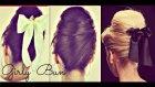 CUTE HAIR BUN | SCHOOL HAIRSTYLES FOR MEDIUM LONG HAIR TUTORIAL | RETRO 60s BUNS PARTY UPDOS