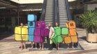 Sokakta Tetris Oynayarak İnsanları Troll'lemek