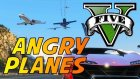 GTA 5 ANGRY PLANES MOD! (ATTACKING PLANES)