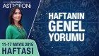 Haftalık astroloji ve burç yorumu videosu 11-17 Mayıs 2015