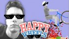SENİ KİM TAKAR SOKUK!! - Happy Wheels +15