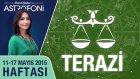TERAZİ burcu haftalık yorumu 11-17 Mayıs 2015
