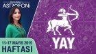 YAY burcu haftalık yorumu 11-17 Mayıs 2015