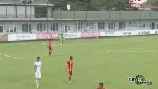 Kaan Baysal'dan şık bir gol