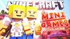 Minecraft: Mini Game (Smash) - Bölüm 45 - Giderken Eşberide Almak!