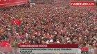 Erdoğan, Rize'de Mahşeri Kalabalığa Konuştu