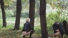 Rus Kızlar Ormanda İşerken Yakalandı