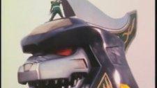 Mighty Morphin Power Rangers Dragonzord ve Yeşil Ranger