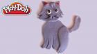 Oyun Hamuru Kedi Yapımı