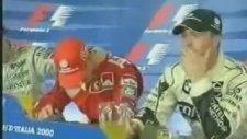 Schumacher'in Aytron Senna'nın Ölümüne Ağlaması (İtalya GP-2000)