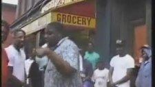 Biggie Smalls - Freestyling On a Brooklyn Street Corner