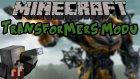 Transformers Modu!! Minecraft Mod İncelemeleri (Jet, Tank, Araba) - Bölüm 8