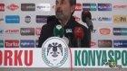 Aykut Kocaman'ın maç sonu açıklamaları