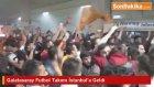 Galatasaray Futbol Takımı İstanbul'a Geldi