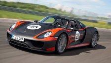 Porsche 918 Spyder Sürüş Denemesi