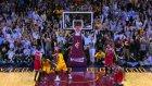 Son saniyede orta sahadan inanılmaz basket