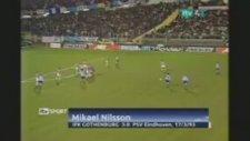 Mikael Nilsson'un PSV'ye Golü - Falso Ötesi Free Kick (1993)