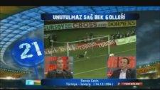 Recep Çetin'in İsviçre'ye Attığı Gol