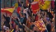 Roma - Galatasaray Maçında Çıkan Kavga (Star Haber 2002)