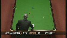 Snooker Efsanesi Ronnie O'Sullivan 147 Sayı ile Dünya Rekoru Kırmak