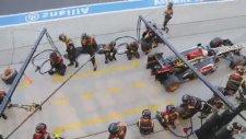F1 Lotus Takımı Ultra Hızlı Pit Stop