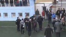 Polise Uçan Tekme Atmak - Trabzon