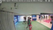 Brandao'nun Koridorda Motta'ya Kafa Atıp Kaçması