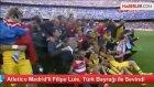 Camp Nou'da Türk Bayrağı ile Sevinen Filipe Luis