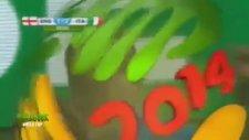 İngiltere 1 - 2 İtalya 2014 Dünya Kupası (Arap Spiker)