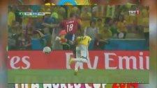 Neymar'ın Omurgasının Kırılması - World Cup 2014