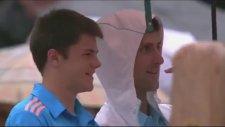 Roland Garros - Novak Djokovic'in Ball Boy İle Molası