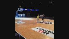 Tony Parker'ın Antrenmanda Geri Geri Attığı Mükemmel Basket