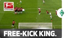 Bundesliga'ya damga vuran müthiş frikik