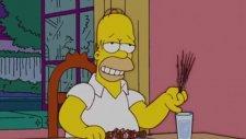 The Simpsons - Homer Şiş Kebap Yiyor