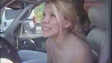Cicişler - Polis Arabasına Yanlışlıkla Çarpmak