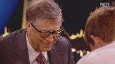 Bill Gates'in Saniyeler İçinde Mat Olması