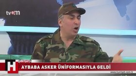 Adnan Aybaba - Askeri Üniforma ile Programa Gelmek
