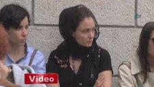 Ceyda Düvenci Nikah Şahitliğini Yaptığı Gencin Cenazesine Katıldı