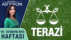 TERAZİ burcu haftalık yorumu 18-24 Mayıs 2015