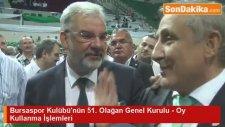 Bursaspor Kulübü'nün 51. Olağan Genel Kurulu - Oy Kullanma İşlemleri