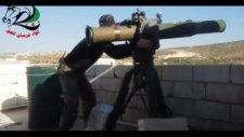 Suriyeli Muhalifler Rejim Tankını Böyle Patlattı