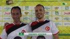 Afacan Reklam vs Fit Stop Basın Toplantısı iddaa RakipBul Antalya Ligi 2015 Açılış Sezonu