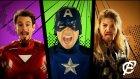 Dünyanın En Güçlü Kahramanları Şarkı Söylerse