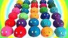 Oyun Hamurundan 30 Sürpriz Yumurta Oyuncak Araba Açımı - 2