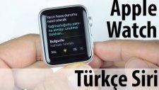 Apple Watch 1.0.1 Türkçe Güncellemesi çıktı!