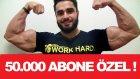 50.000 ABONE ÖZEL ! - Fitness Generation T-Shirt Çekilişi - KENZO KARAGÖZ